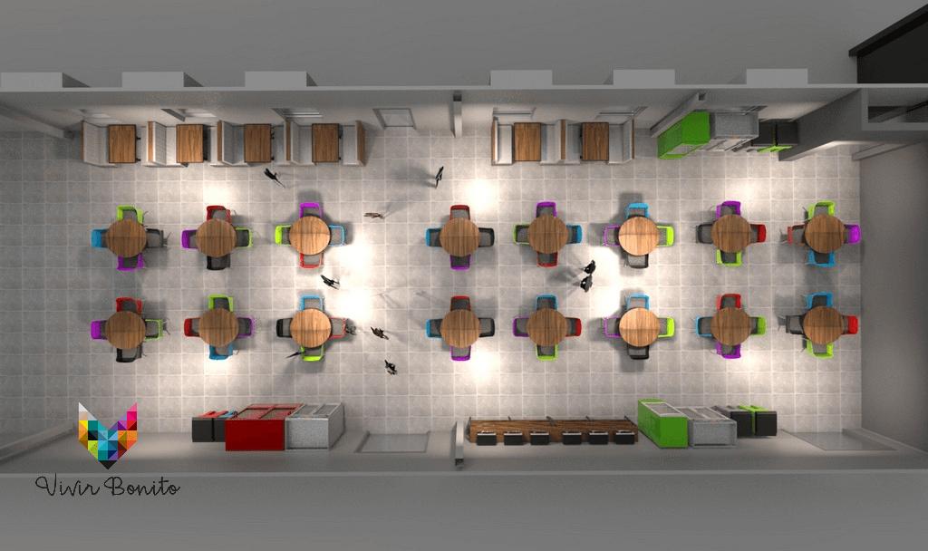 Planos de Comedor Industrial